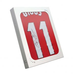 Ryan Giggs Signed 1999 Manchester United Champions League Shirt In Gift Box