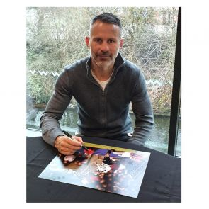 Ryan Giggs Manchester United Signed Photo: FA Cup Semi-Final Wonder Goal
