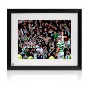 Framed Scott Brown Signed Photo