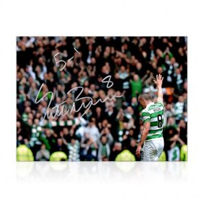 Scott Brown Signed Photo: 5-1 Win At Ibrox In Gift Box