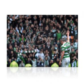 Scott Brown Signed Celtic Photo: The Captain