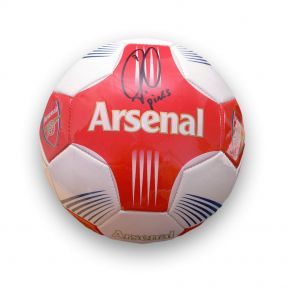 Robert Pires signed football