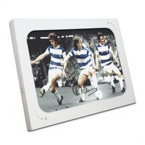 Stan Bowles Signed QPR Photo In Gift Box