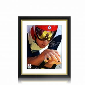 Signed Bradley Wiggins Photo