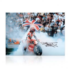 Signed Carl Fogarty Photo: Foggy