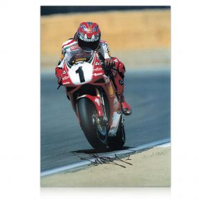 Carl Fogarty Signed Photo