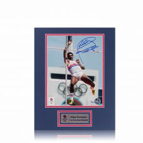 Signed Daley Thompson