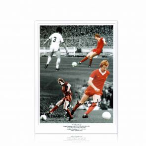 Signed David Fairclough Liverpool Photo