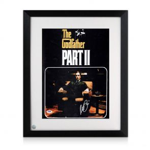 Al Pacino signed and framed Godfather 2 Poster