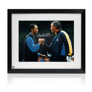 Darren Clarke Signed Framed Photograph: Slaying The Tiger