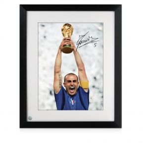 Framed Cannavaro Autograph