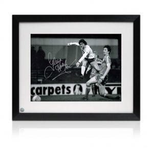 Glenn Hoddle Signed Framed Tottenham Hotspur Photo: Road To Wembley