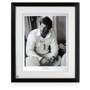 Framed Sir Ian Botham Signed Cigar Print