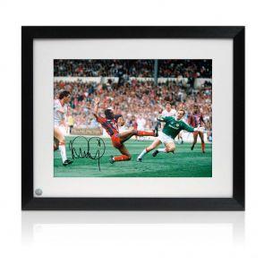 Ian Wright Signed And Framed Crystal Palace Photo