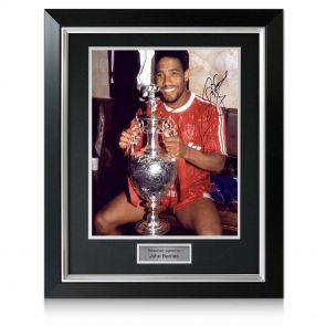 Framed John Barnes Liverpool Picture