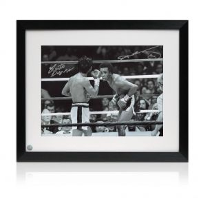 Signed Framed Boxing Photos