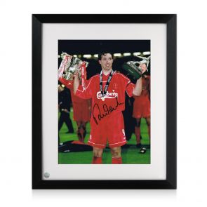 Framed Robbie Fowler Photo