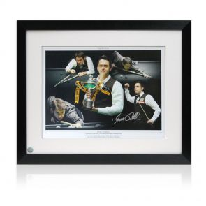 Signed And Framed Ronnie O'Sullivan Photo: the Rocket