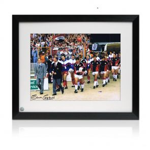 Steve Coppell Signed Framed Photo