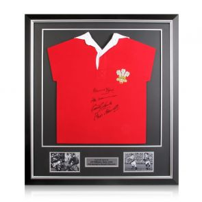 Wales Legends Signed Shirt