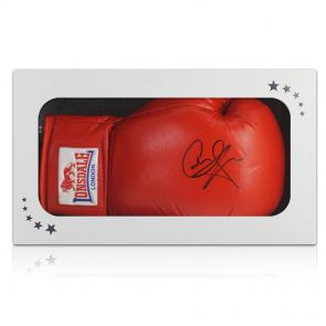 Carl Froch Signed Boxing Glove In Gift Box