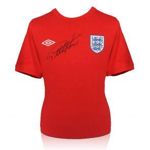 Signed Geoff Hurst Jersey