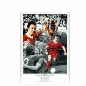 Jimmy Case Signed Liverpool FC Photograph. In Gift Box