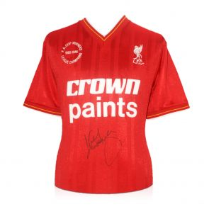 Kenny Dalglish Signed Liverpool Top
