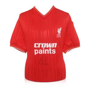 Signed Liverpool Memorabilia