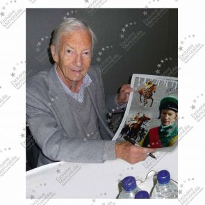 Signed Lester Piggott Horse Racing Photo: Nijinsky