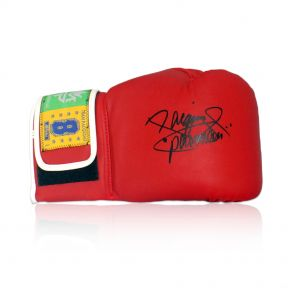 Signed Manny Pacquiao Red Glove