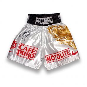 Signed Pacquiao v Hatton Shorts