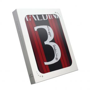 Paolo Maldini Signed AC Milan Shirt In Gift Box