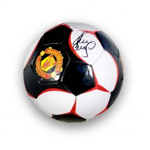 Paul Scholes Signed Football