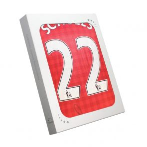 Paul Scholes Signed Manchester United 2012 Football Shirt. In Gift Box