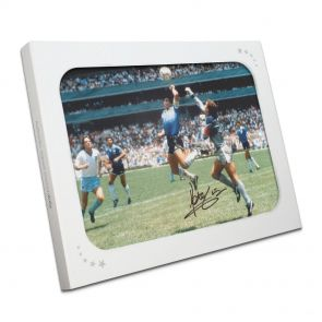 Signed Hand Of God Photo In Gift Box