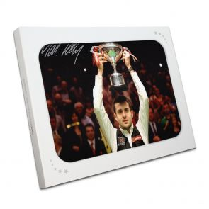 Mark Selby Signed Photo In Gift Box