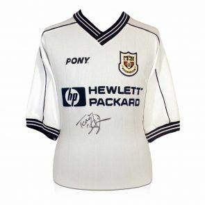 Signed Sheringham Spurs Shirt