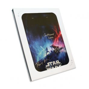 Daisy Ridley, Adam Driver & Ian McDiarmid Signed Star Wars Poster: The Rise Of Skywalker Gift Box