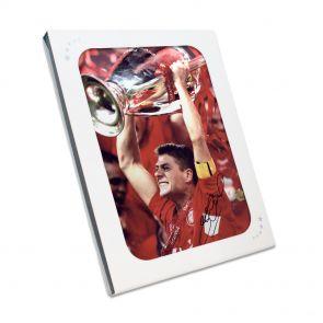 Steven Gerrard signed liverpool picture