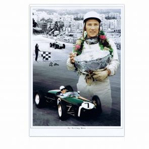 Stirling Moss Signed Photo