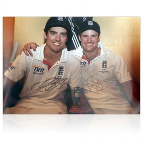 Signed Ashes Memorabilia: Strauss and Cook