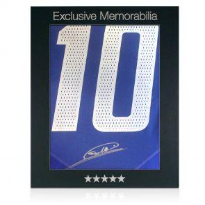 Zinedine Zidane Signed 2004 France Shirt In Gift Box