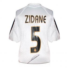 Zinedine Zidane Signed Real Madrid 2004-05 Football Shirt (With Madrid Logo) In Gift Box