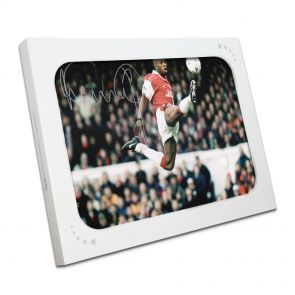 Ian Wright Jumping Photo In Gift Box