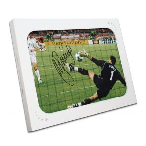 Jerzy Dudek Signed Istanbul Liverpool Photo In Gift Box