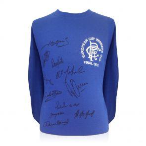 Rangers 1972 Squad Signed Shirt