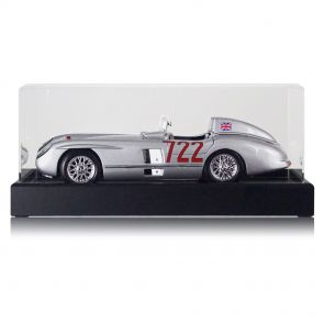 Stirling Moss Signed Model Car In Display Case