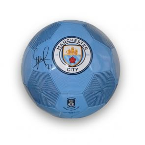 David Silva Signed Manchester City Football
