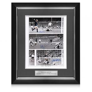 Framed Scotland Signed Photo